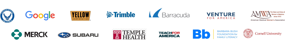 qooper customers and logos