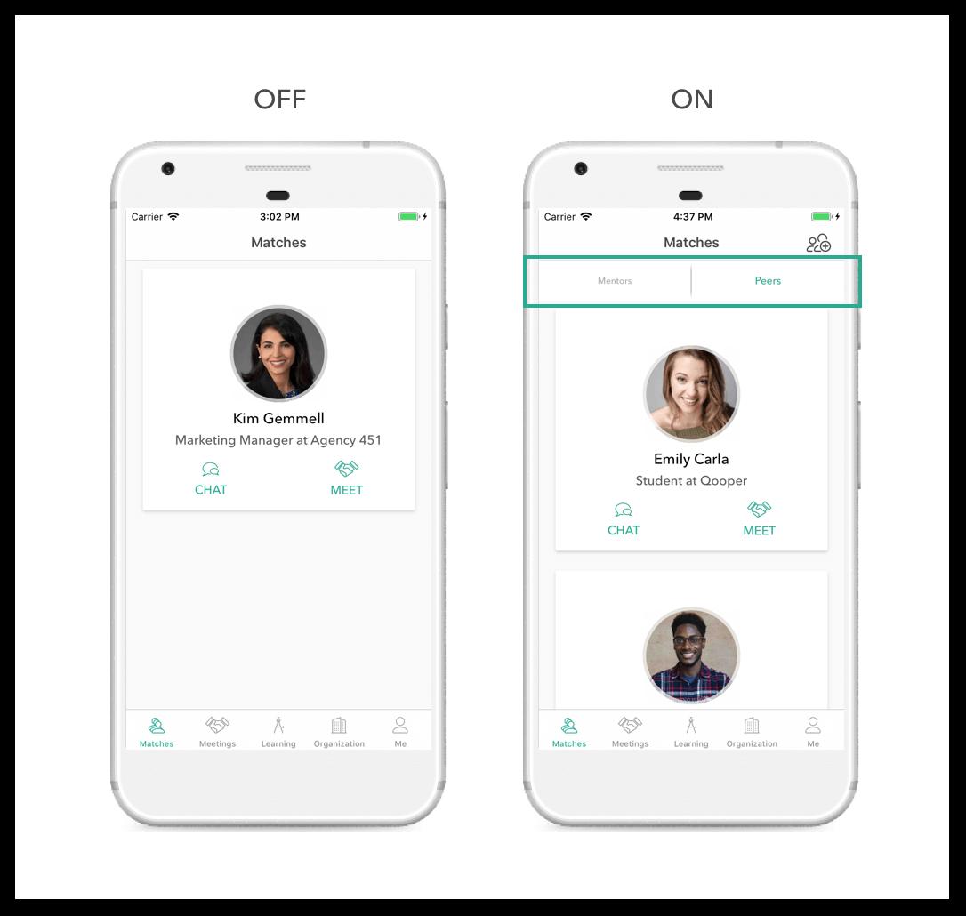 Peer Match Customization
