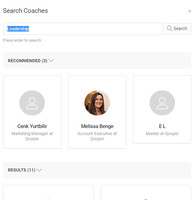 search coaches